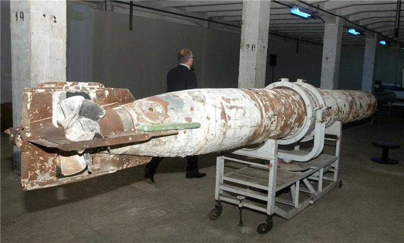 Otvorenje izložbe Prvi na svijetu - 150 godina riječkoga torpeda foto HINA