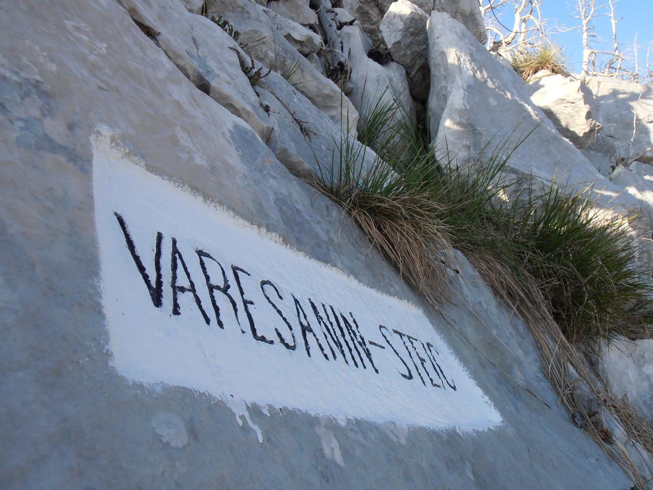 Obnovljena spomen-ploča VARESANIN-STEIC