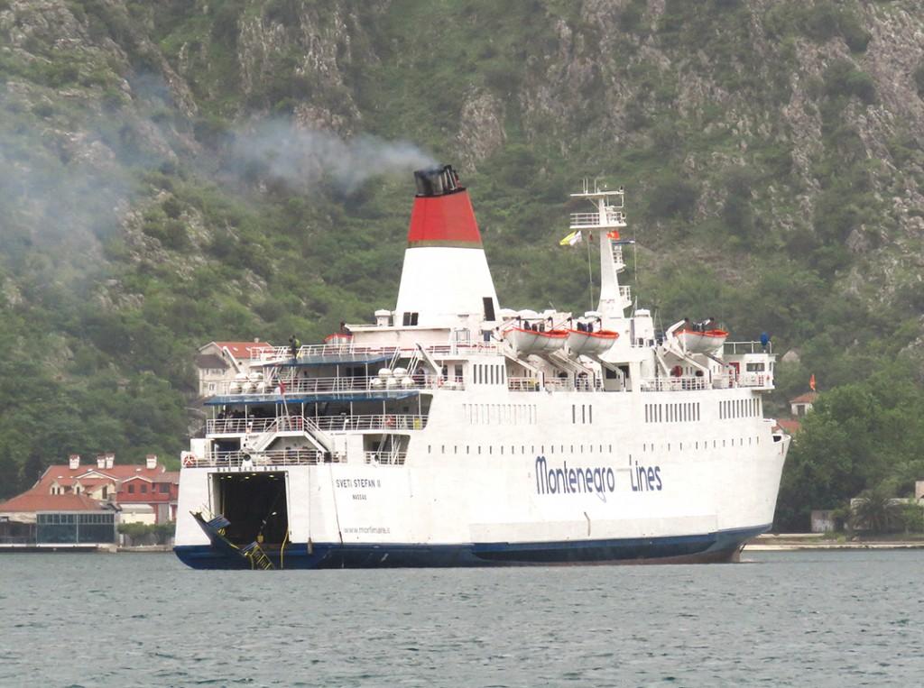 SVETI STEFAN II sa ostecenom rampom u Kotoru