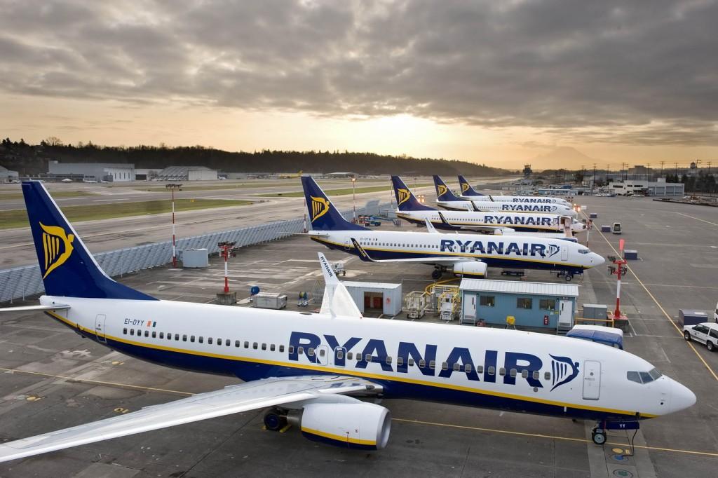 Dio flote Ryanaira