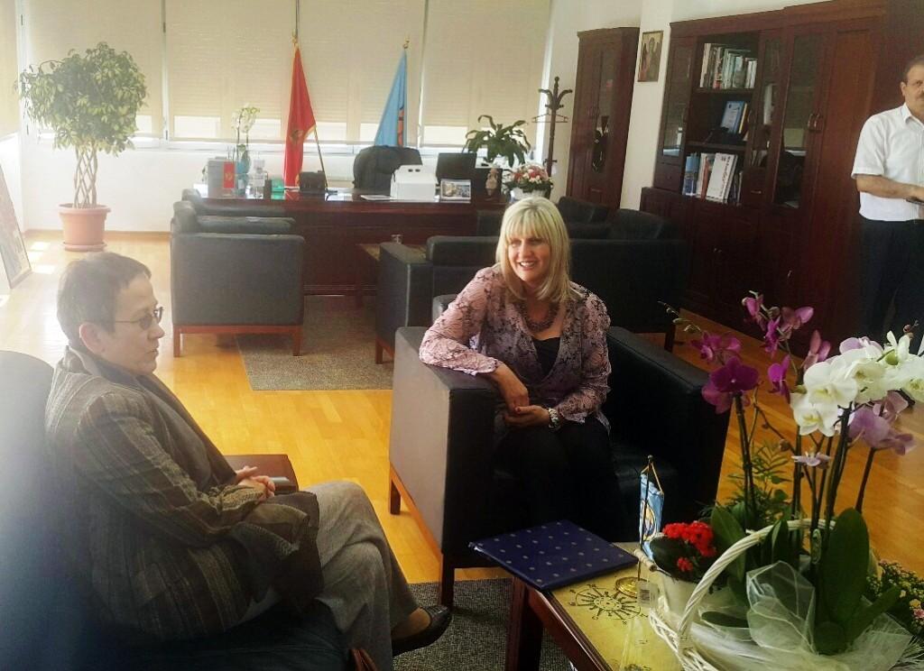 Njemacka ambasadorka i gradonacelnica Matijević