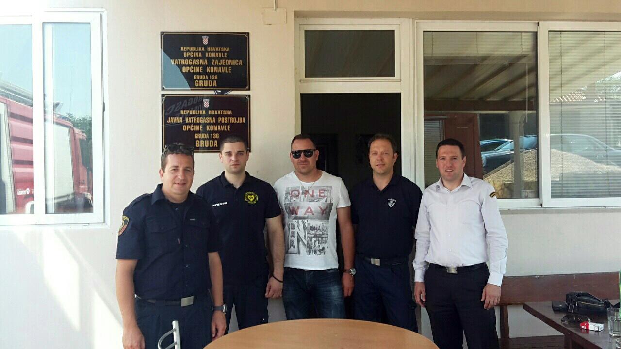 Službe zaštite i komunalne policije Herceg Novog u posjeti Konavlima