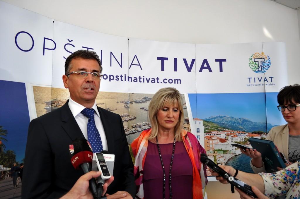Matijević i Gvozdenović - foto Boka News