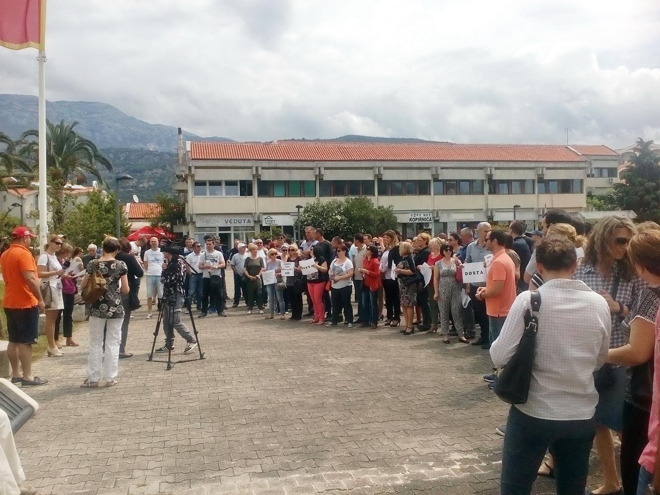 Budva protest