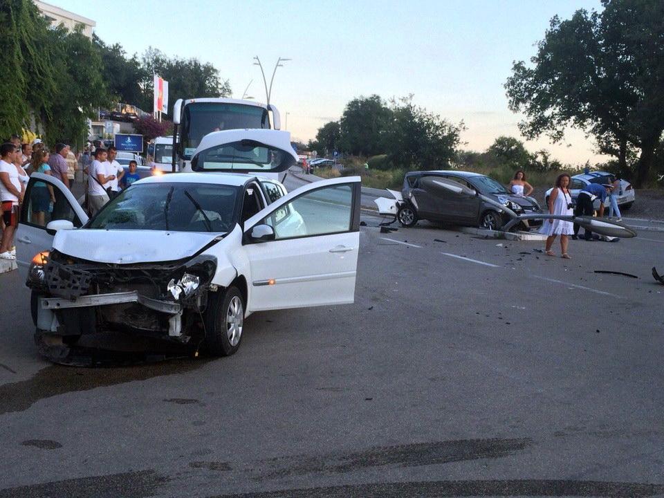 Bečići saobraćajna nezgoda