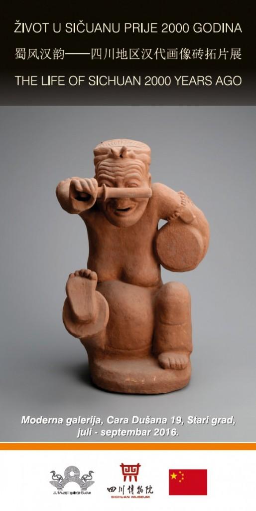 """Budva - Izložba """"Život Sečuana prije 2000 godina"""""""