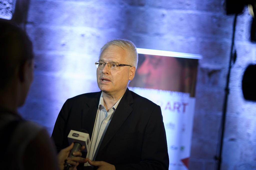 Ivo Josipović u Kotoru