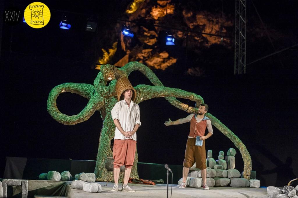 Ljetnja pozornica, Kako rastu veliki ljudi. Njegoš za djecu. (6+) | KotorArt Kotorski Festival Pozorišta Za Djecu, Foto: Duško Miljanić