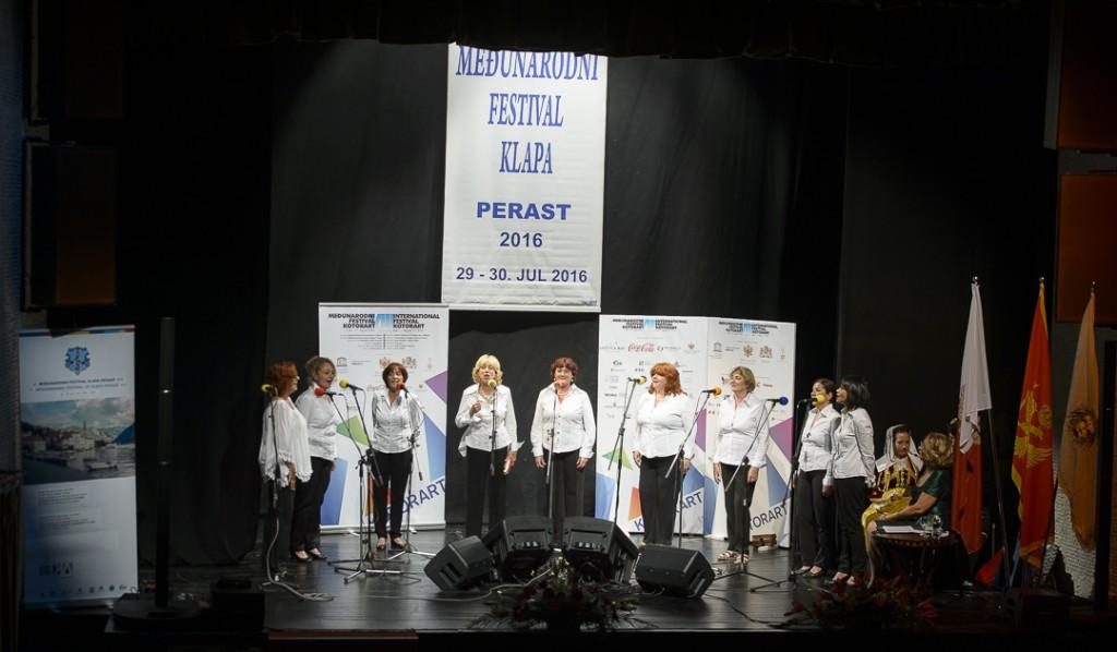 Koncert crnogorskih klapa i promovisan CD