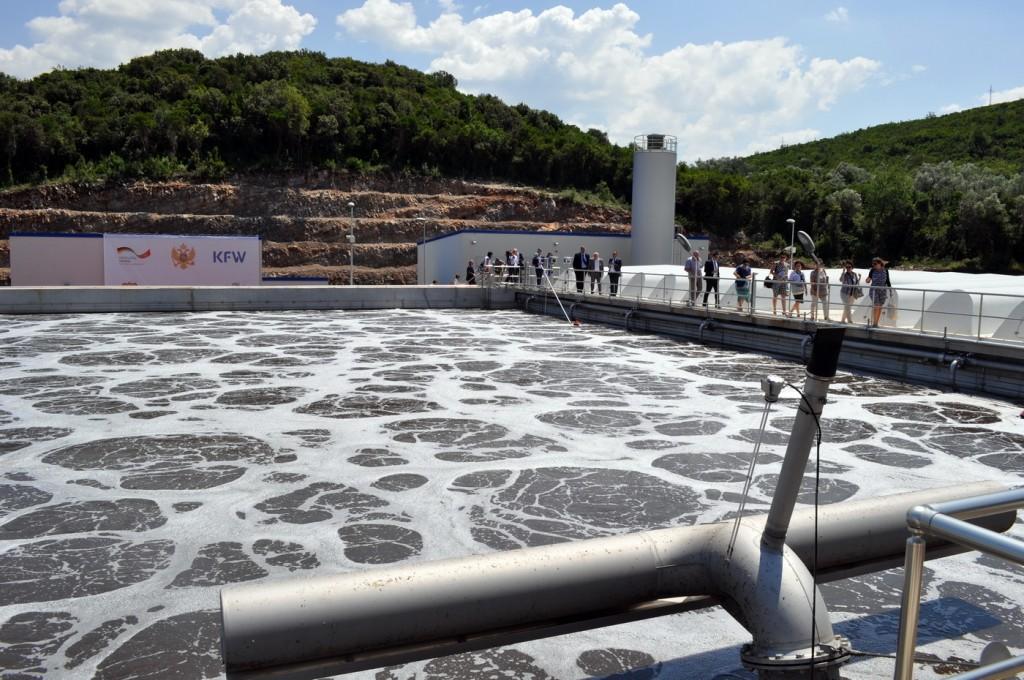 Otvoreno postrojenje za prečišćavanje otpadnih voda za Tivat i Kotor