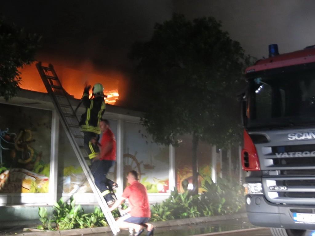 Požar u Tivtu