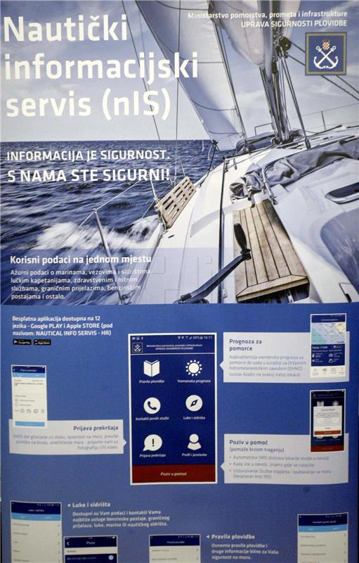 Aplikacija Nautički informacijski servis