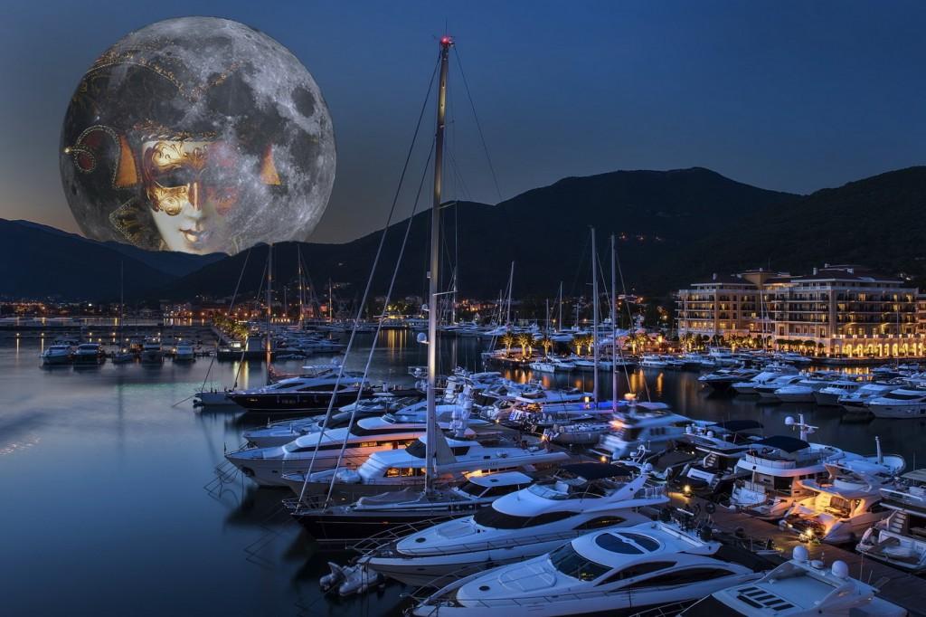 Vecera u noci punog mjeseca