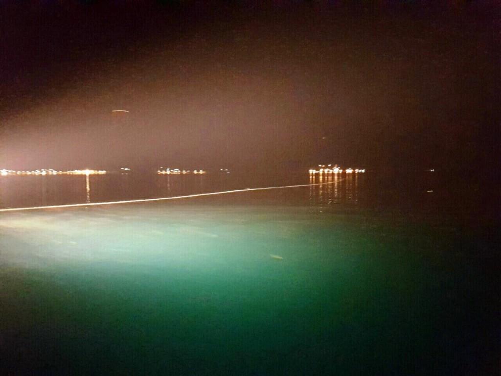 Mrlja u moru u Kotorskom zalivu