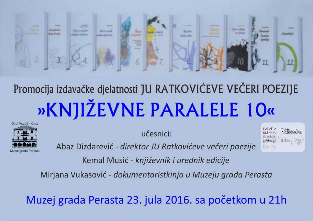 Ratkoviceve veceri poezije Muzej Perast