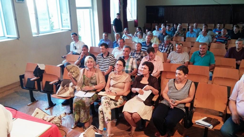 Sa Zbora gradjana u Krtolima