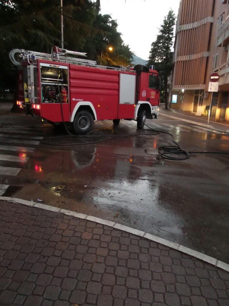 Akcija pranja ulica - Tivat