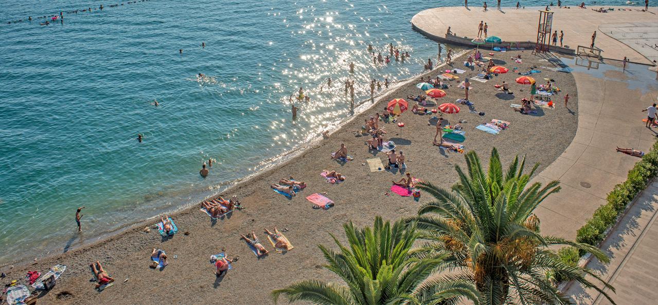 Tivat - Gradska plaža