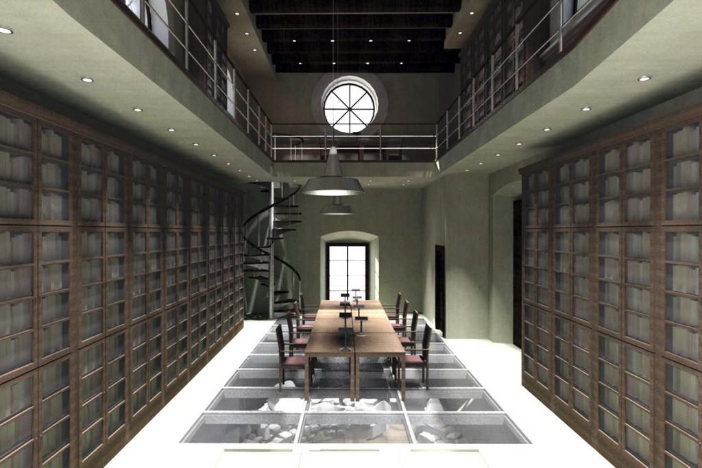 Izgled unutrašnjosti buduće biblioteke