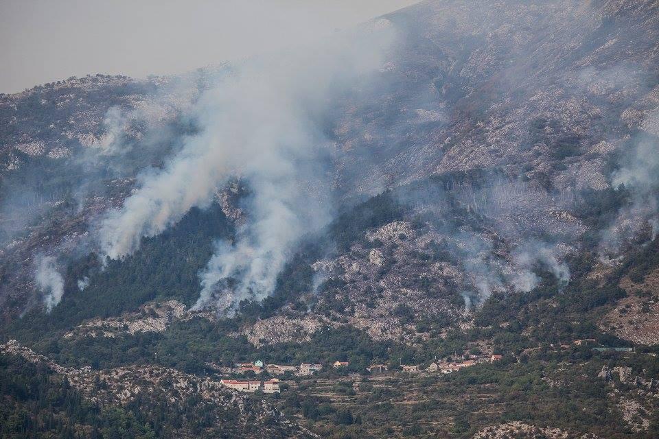 Požar - foto Stevan Kordić