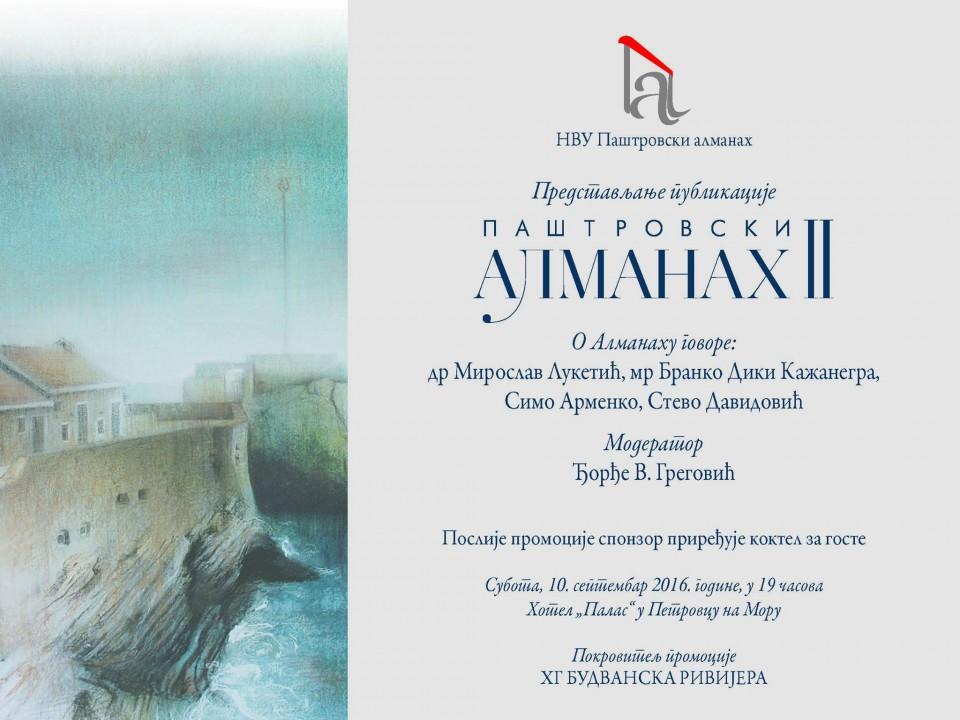 """Paštrovski almanah 2"""