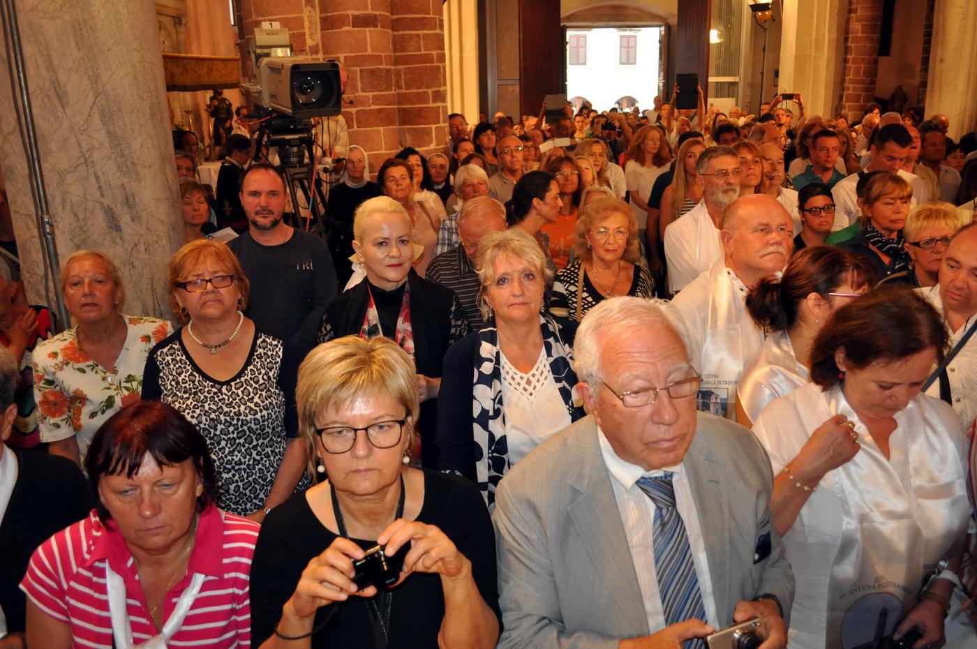 Proslava 850 godina posvete katedrale Svetog Tripuna