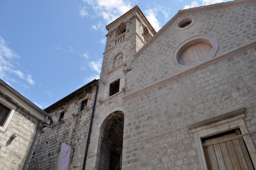 Kotor - crkva Svetog Franja - foto Boka News