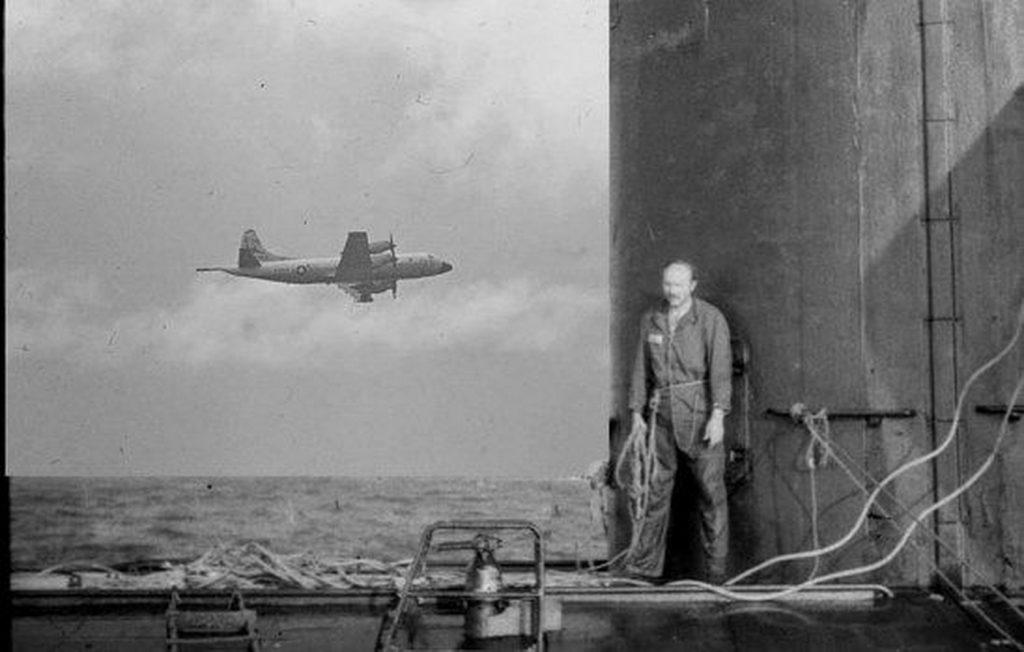 Komandant Britanov pred napustanje-K-219