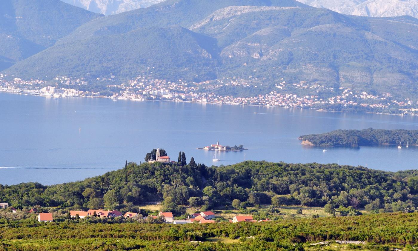 Panorama Tivat-Luštica