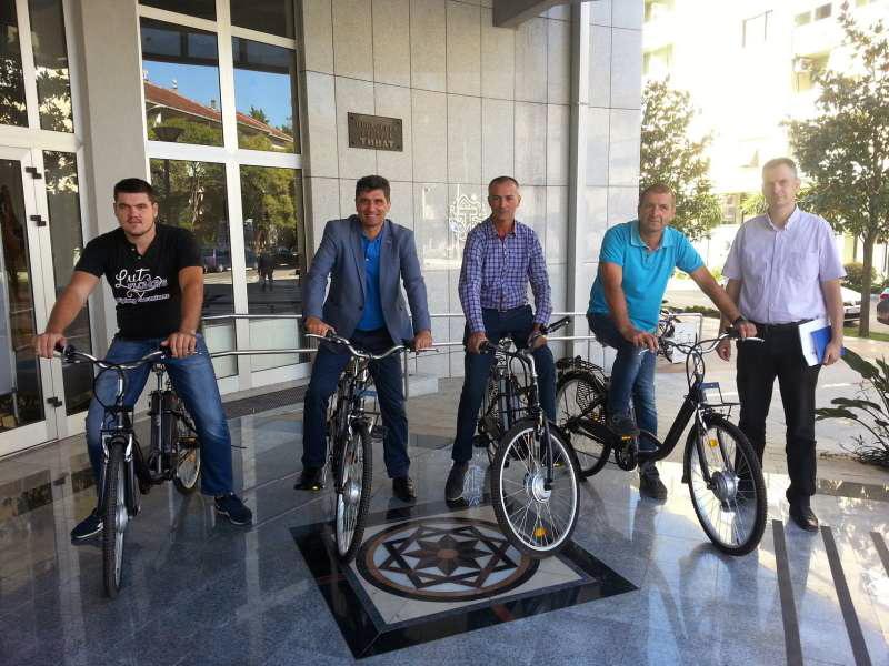 Dodjela električnih bicikala