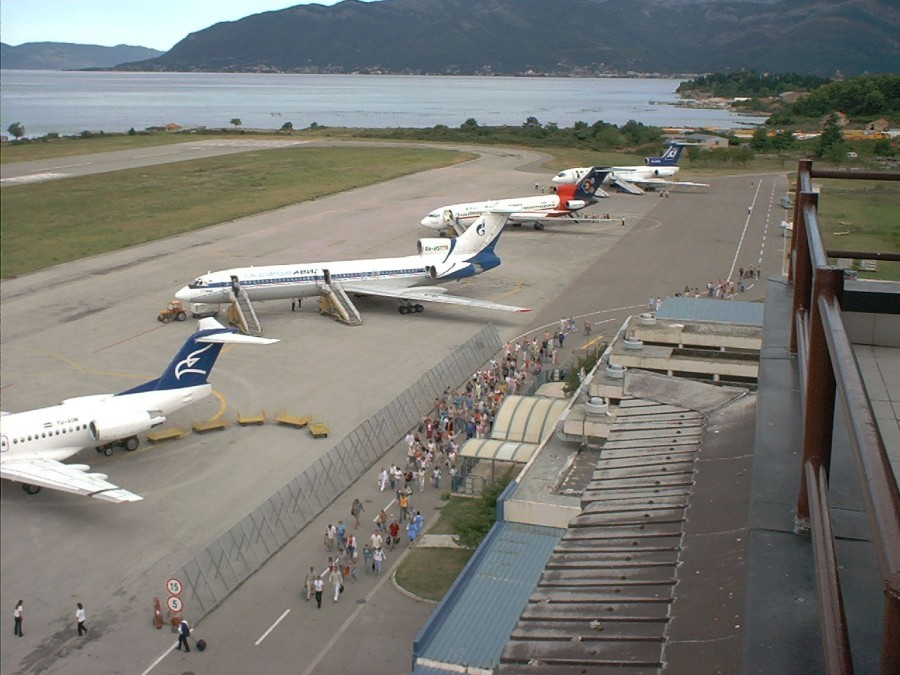 Aerodrom Tivat - Foto: montenegroairports