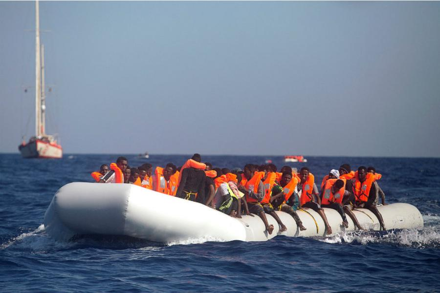 Migranti - foto Reuters