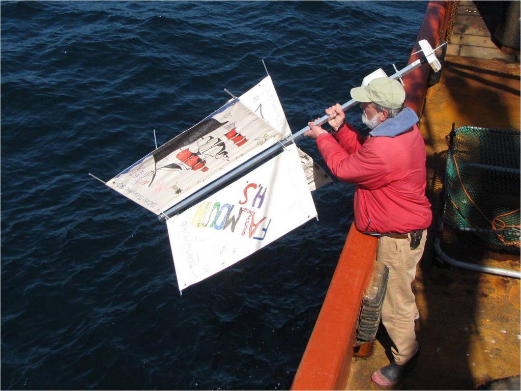 Spuštanje driftera u more