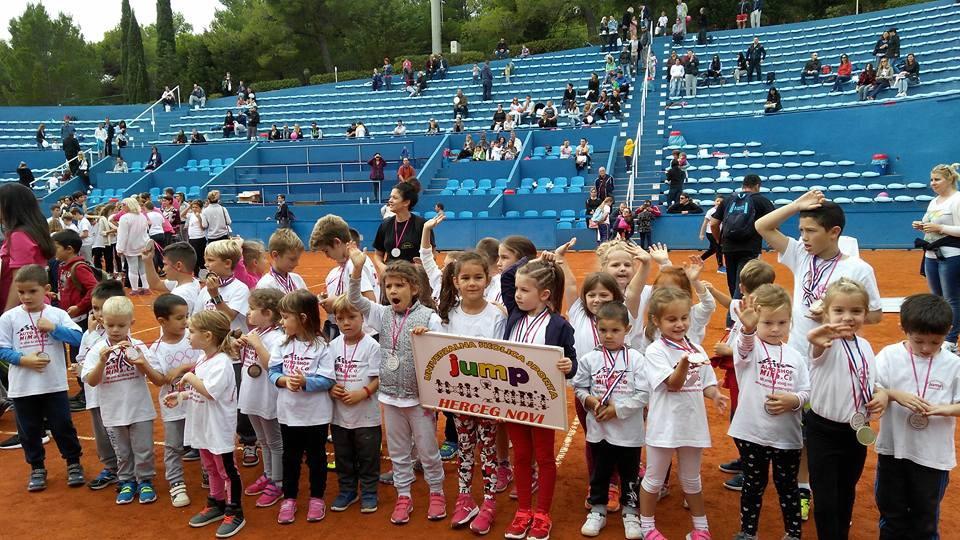 Školica sporta JUMP na III Međunarodnoj dječijoj olimpijadi na Braču
