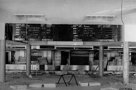 Čilipi aerodrom 1991.