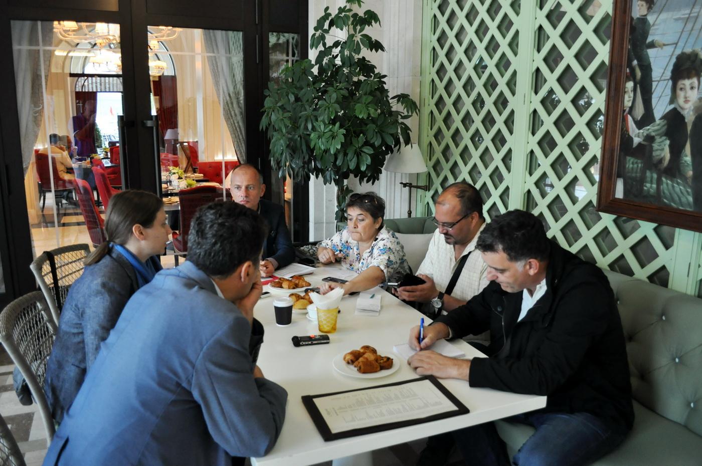 Hotel Regent - radni doručak sa novinarima
