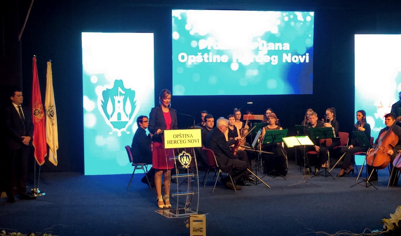 Sa svečane sjednice SO Herceg Novi 2016.