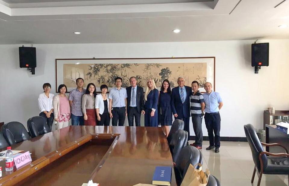 Delegacija iz Tivta na univerzitetu u Kini