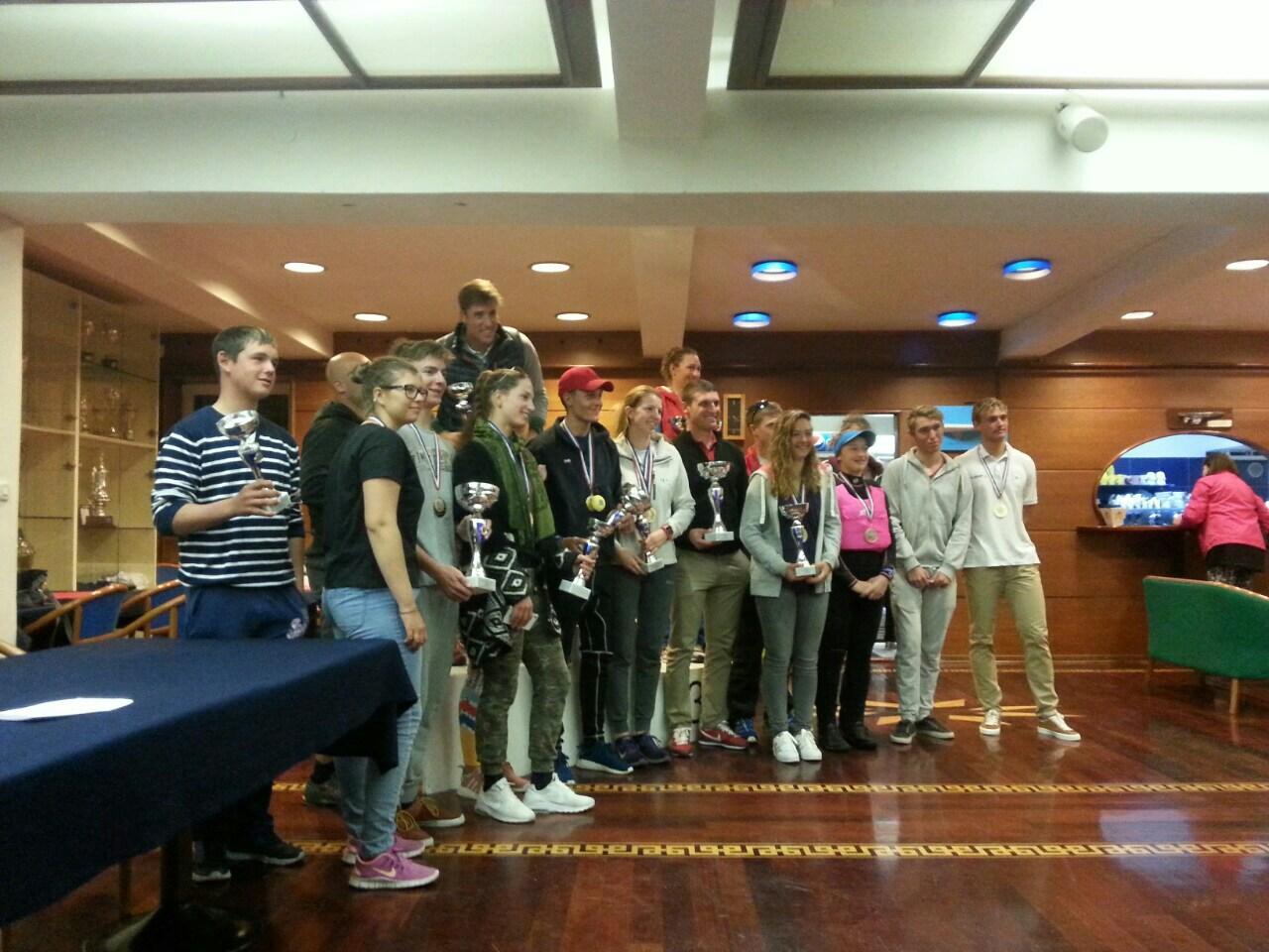 Otvorenom prvenstvu Hrvatske u Olimpijskim klasama