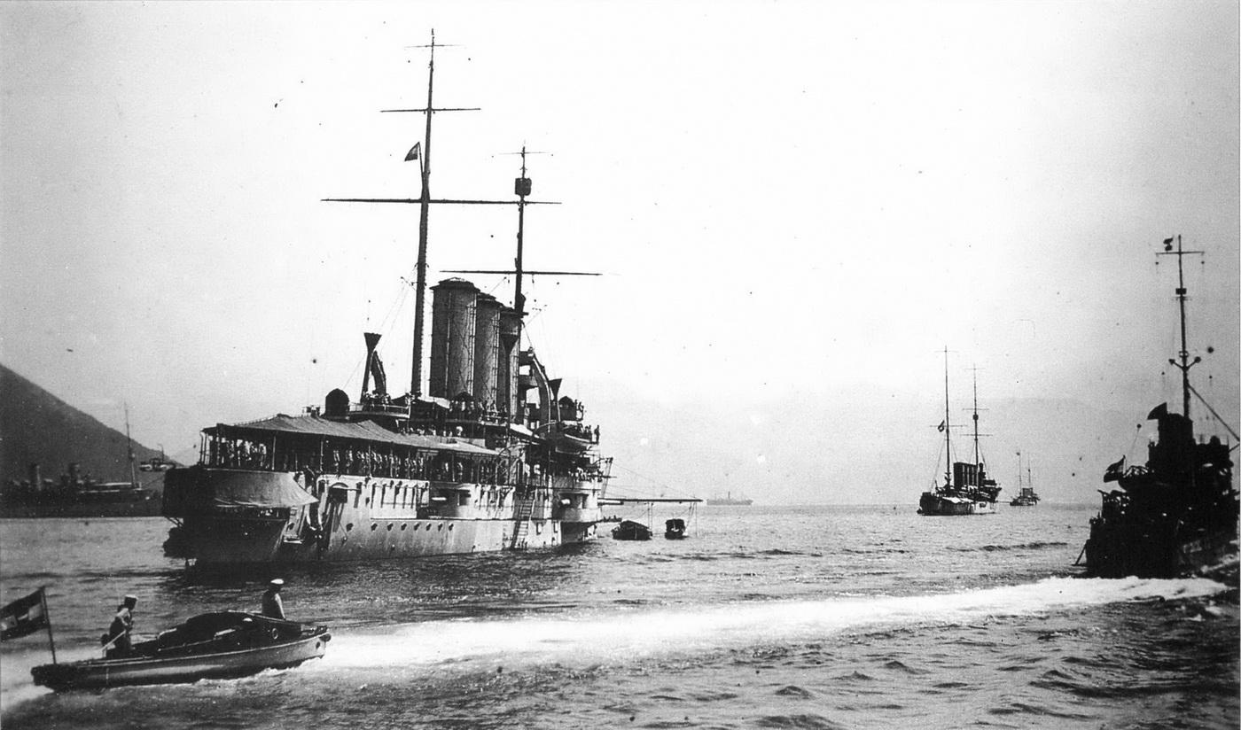 Austrougarska vojnopomorska baza u Boki-avgust-1916.