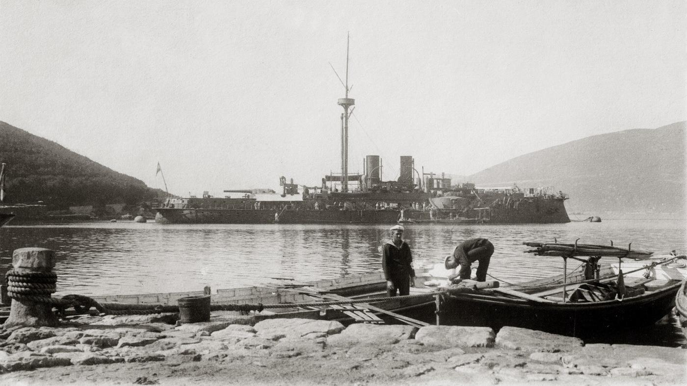 Austrougarski brod Kronprinz  Erzherzog Rudolf-u Boki