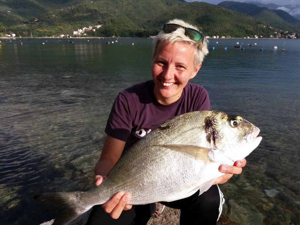 Treće mjesto- Lidija Vukić -orada 2,9kg