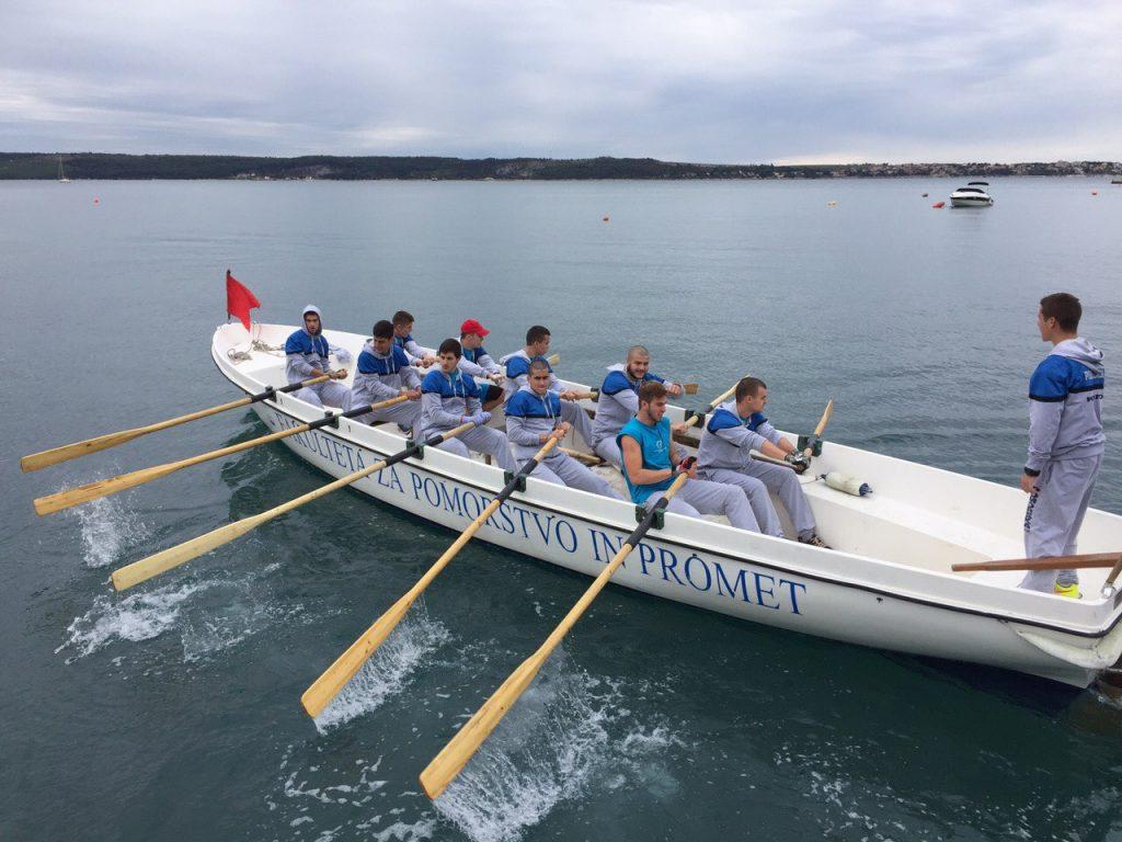 Portorož - veslači iz Kotora
