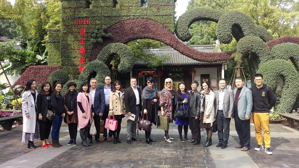 Sa turističkim radnicima u Kini