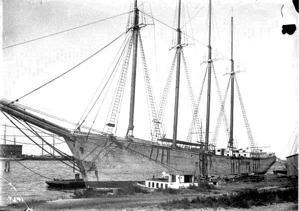 Stradali americki jedrenjak-albert-w-robinson