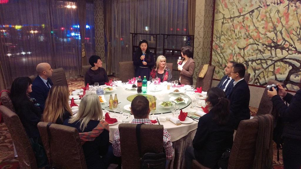 Svečana večera-sa zamjenicom gradonacelnika