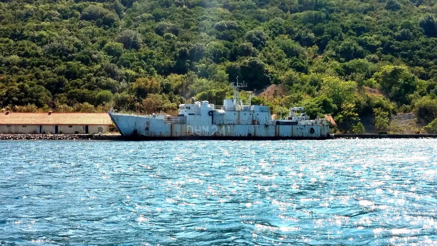 Brod na kome je održana vježbaa