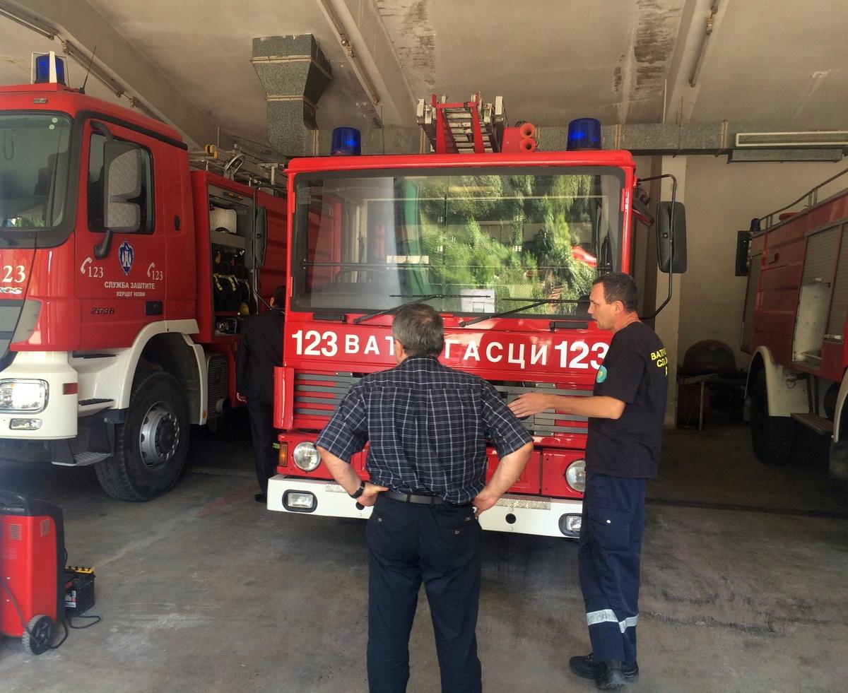 Vatrogasni dom u HN (foto: Opštine Herceg Novi)