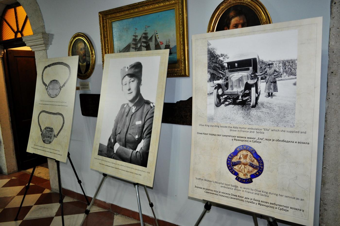 """Izložba """"Narednik Oliv Kelso King: Australijanka u srpskoj vojsci"""""""