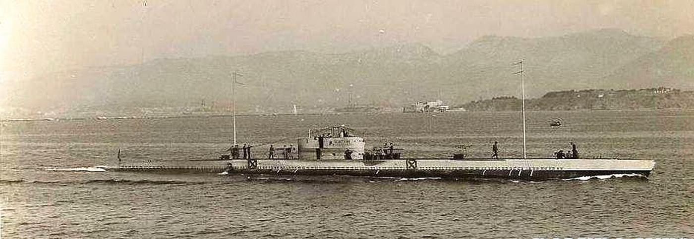 Jugoslovenska-podmornica-osvetnik-na-probnim-voznjama-u-francuskoj